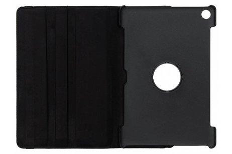 Zwarte 360° draaibare tablethoes voor de Huawei MediaPad M5 (Pro) 10.8 inch