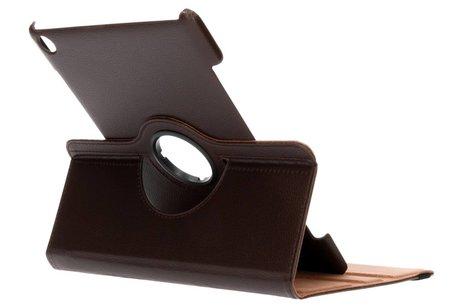 Bruine 360° draaibare tablethoes voor de Huawei MediaPad M5 (Pro) 10.8 inch
