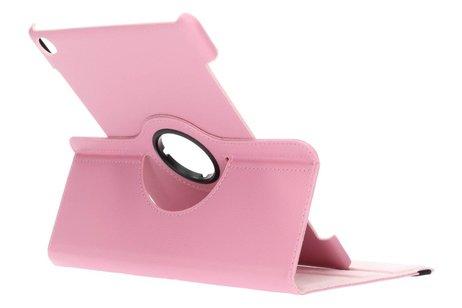 Roze 360° draaibare tablethoes voor de Huawei MediaPad M5 (Pro) 10.8 inch