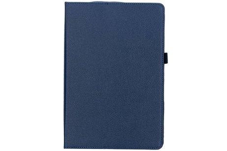 Blauwe effen tablethoes voor de Huawei MediaPad M5 (Pro) 10.8 inch