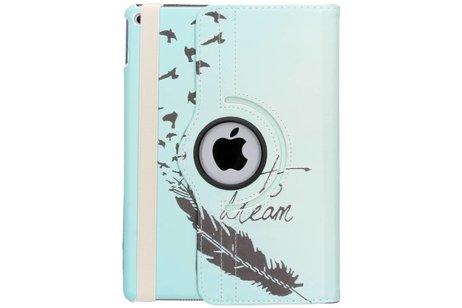 iPad Air 2 hoesje - 360° Draaibare Design Bookcase