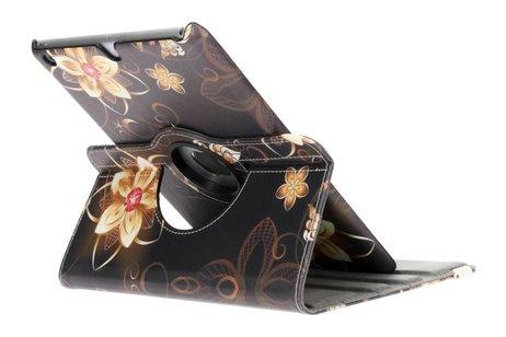 iPad Air hoesje - 360° draaibare vlinders met