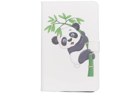 Samsung Galaxy Tab A 10.1 (2016) hoesje - Panda in boom design