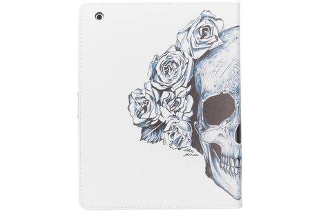 Doodshoofd design TPU tablethoes voor de iPad 2 / 3 / 4