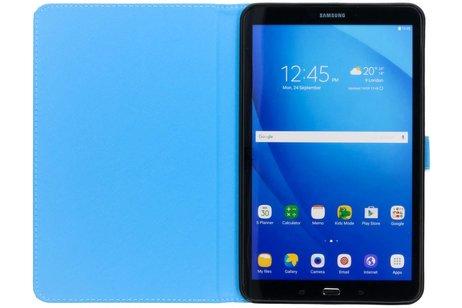 Samsung Galaxy Tab A 10.1 (2016) hoesje - Doodshoofd design TPU tablethoes
