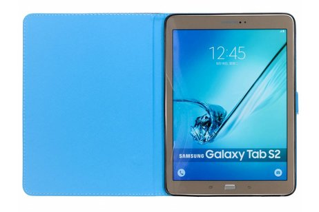 Samsung Galaxy Tab S2 9.7 hoesje - Doodshoofd design TPU tablethoes