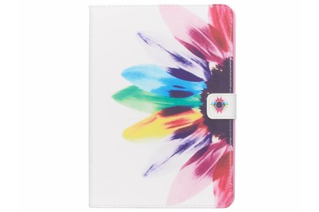 iPad Air hoesje - Regenboog design TPU tablethoes