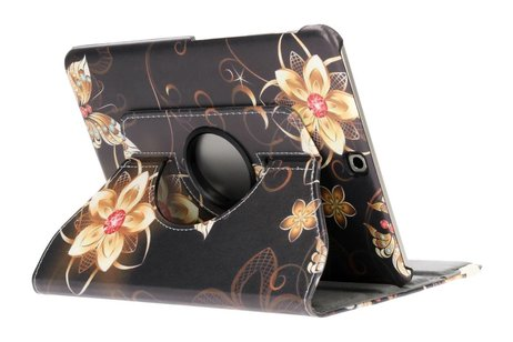Samsung Galaxy Tab S2 9.7 hoesje - 360° draaibare vlinders bloemen