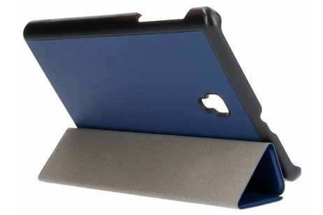 Samsung Galaxy Tab A 8.0 (2017) hoesje - Blauwe Stand Tablet Cover