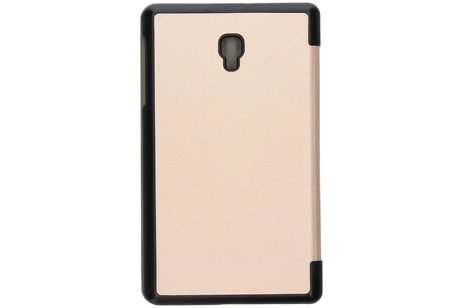 Samsung Galaxy Tab A 8.0 (2017) hoesje - Gouden Stand Tablet Cover