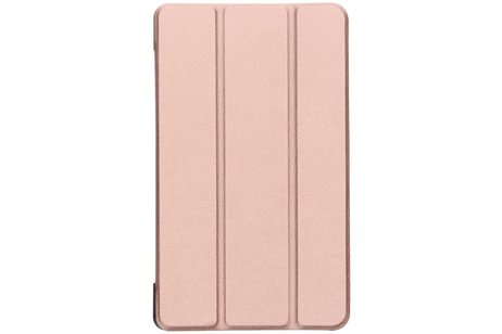 Samsung Galaxy Tab A 8.0 (2017) hoesje - Rosé Gouden Stand Tablet