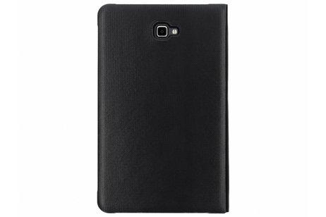 Samsung Galaxy Tab A 10.1 (2016) hoesje - Zwarte Book Cover voor