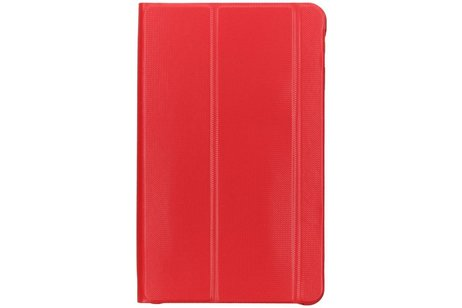 Samsung Galaxy Tab A 10.1 (2016) hoesje - Rode Book Cover voor
