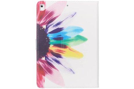Regenboog design TPU tablethoes voor de iPad (2018) / (2017)