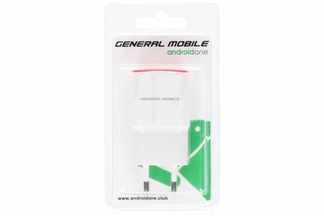 General Mobile Witte USB Turbo Charger - 2 ampère