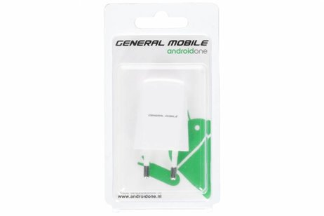General Mobile Witte USB Travel Charger