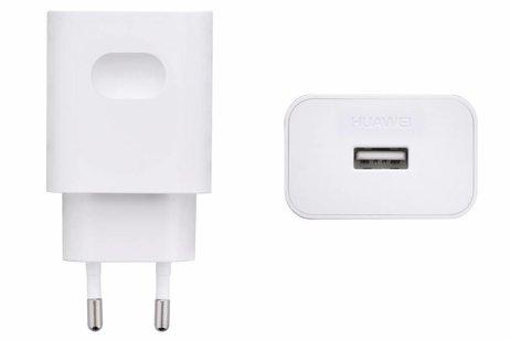 Huawei Witte Adapter + Micro-USB naar USB kabel - 2 ampère