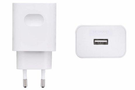 Huawei Witte SuperCharge Adapter + USB-C kabel - 5 ampère