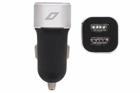 Accezz Zwarte Dual USB Car Charger 4,8 ampère