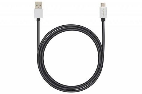 Accezz Fast Charging Micro-USB naar USB-kabel 1 meter - Zwart