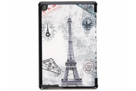 Huawei MediaPad M5 Pro 10.8 inch hoesje - Parijs design tablethoes voor