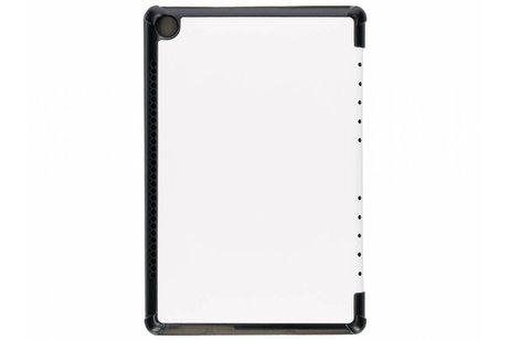 Witte Stand Tablet Cover voor de Huawei MediaPad M5 (Pro) 10.8 inch