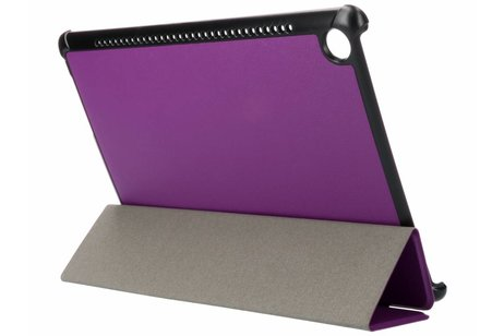 Paarse Stand Tablet Cover voor de Huawei MediaPad M5 (Pro) 10.8 inch