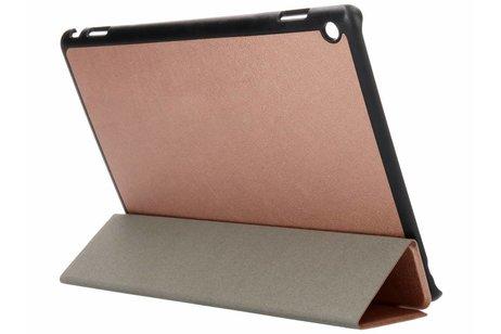Huawei MediaPad M3 Lite 10 inch hoesje - Rosé Gouden Stand Tablet