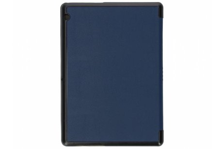 Huawei MediaPad T3 10 inch hoesje - Blauwe Stand Tablet Cover
