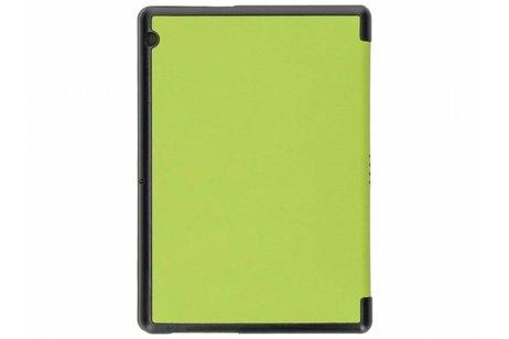 Huawei MediaPad T3 10 inch hoesje - Groene Stand Tablet Cover