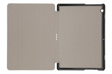 Huawei MediaPad T3 10 inch hoesje - Witte Stand Tablet Cover
