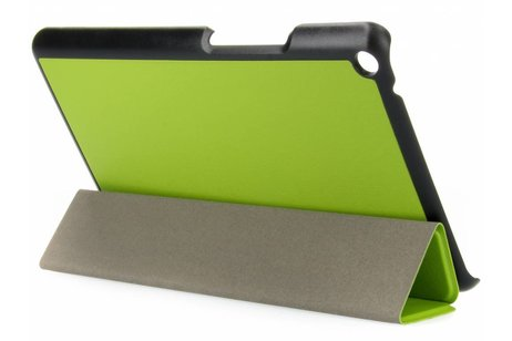 Huawei MediaPad T3 8 inch hoesje - Groene Stand Tablet Cover