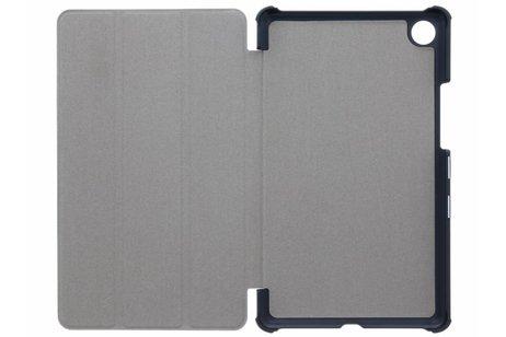 Huawei MediaPad M5 8.4 inch hoesje - Zwarte Stand Tablet Cover