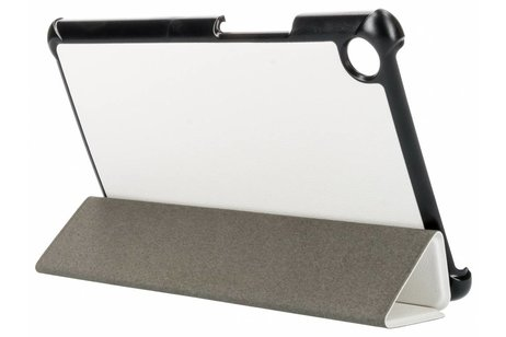 Huawei MediaPad M5 8.4 inch hoesje - Witte Stand Tablet Cover