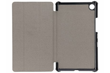 Huawei MediaPad M5 8.4 inch hoesje - Paarse Stand Tablet Cover