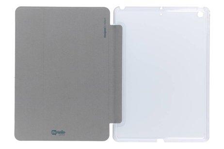 Be Hello Zilveren Smart Stand Case voor de iPad (2018) / (2017)