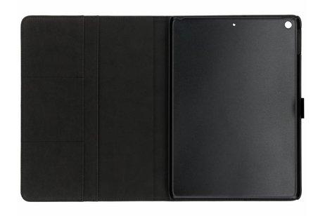 Grijze luxe leder tablethoes voor de iPad (2018) / (2017)