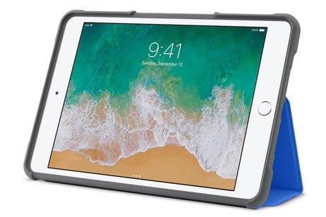 iPad Mini 4 hoesje - STM Dux Rugged Bookcase