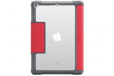 STM Dux Rugged Bookcase voor iPad (2017) / (2018) - Rood