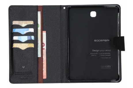Samsung Galaxy Tab S2 8.0 hoesje - Mercury Goospery Bruine Canvas