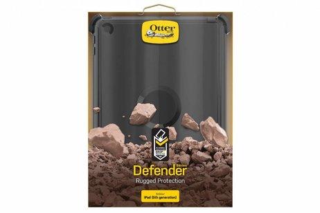 OtterBox Defender Rugged Backcover voor iPad (2017) / (2018) - Zwart