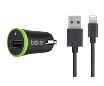 Belkin Boost↑Up Car Charger 2,4A + Lightning naar USB-kabel