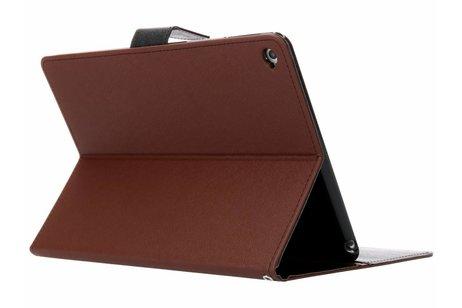 iPad Air 2 hoesje - Mercury Goospery Bruine Canvas