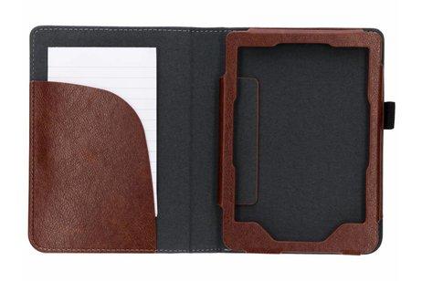 Kobo Clara HD hoesje - Bruine luxe effen book