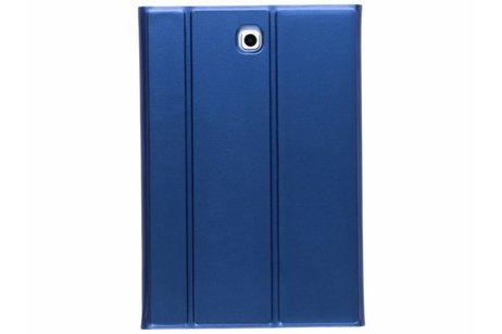 Samsung Galaxy Tab S2 8.0 hoesje - Blauwe glanzende book cover