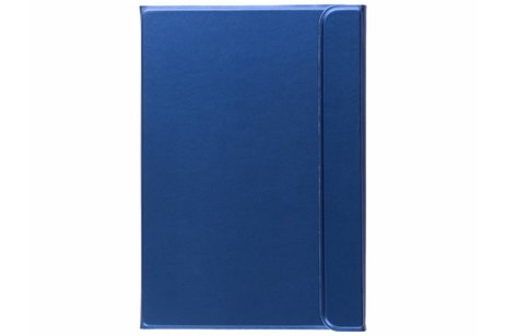 Samsung Galaxy Tab S2 8.0 hoesje - Blauwe glanzende book cover