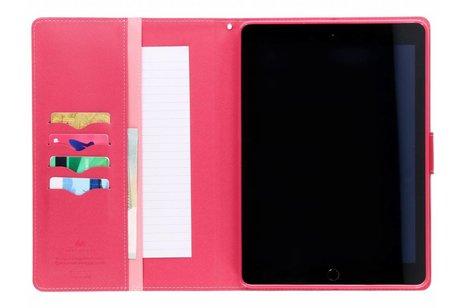 Mercury Goospery Roze Canvas Diary Case voor de iPad (2018) / (2017)