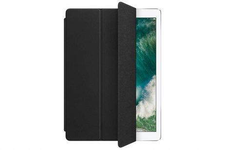 iPad Pro 12.9 hoesje - Apple Zwarte Leather Smart