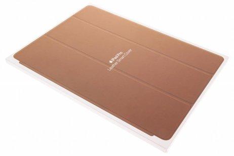 iPad Pro 12.9 hoesje - Apple Bruine Leather Smart