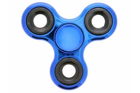 Blauw / Zwart Fidget Spinner